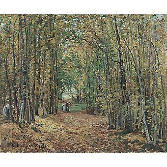 Camille Pissarro - Parc de Marly Poster Print Giclee