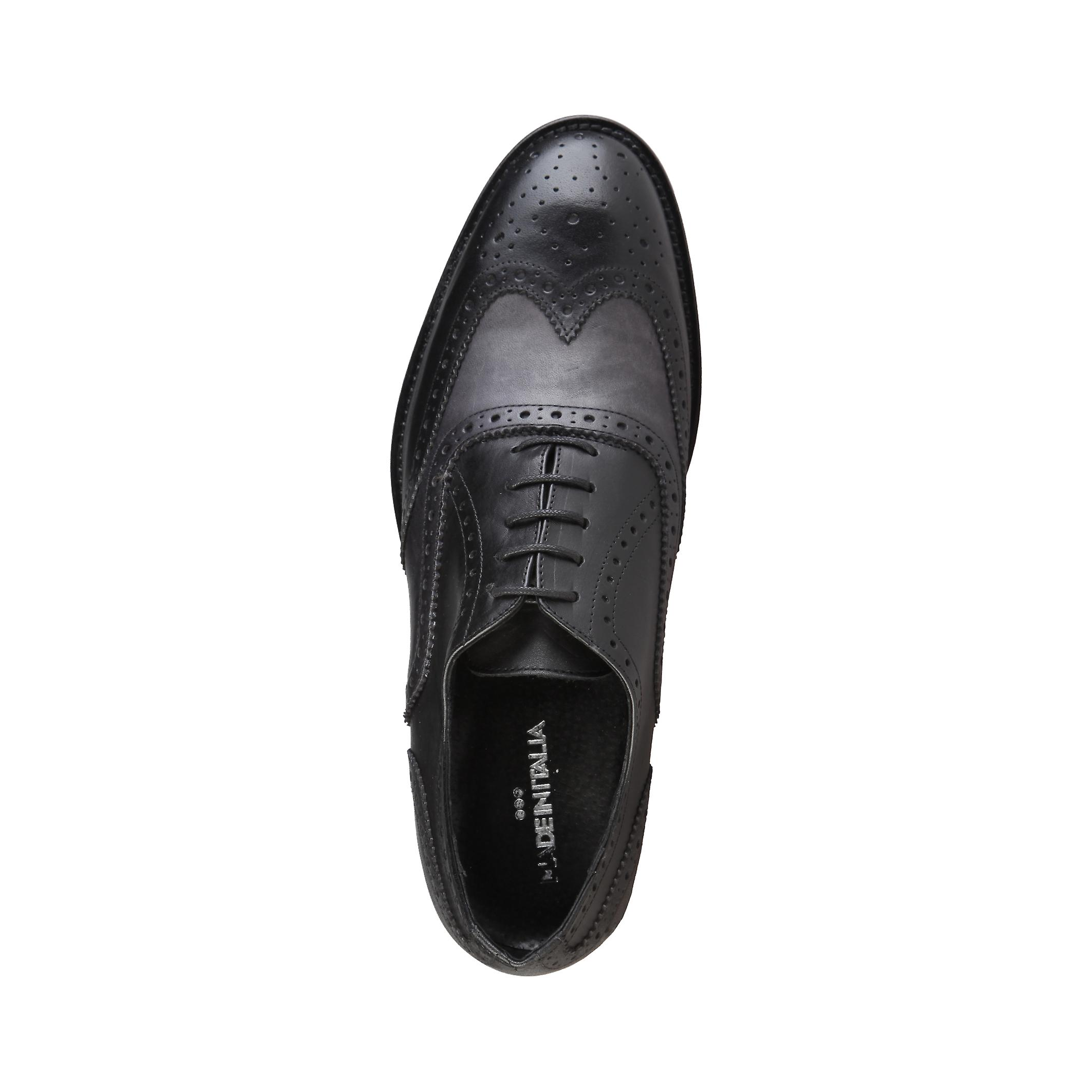 Made in Italia Men Lace up Black