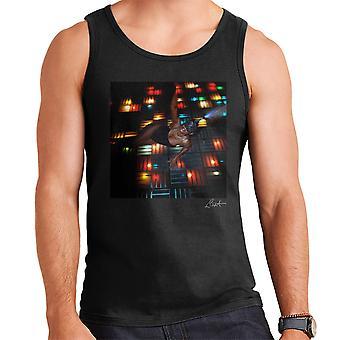 Grace Jones Disco Lights Photoshoot 2008 Men's Vest