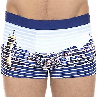 HOM Boxer Brief Massilia, Blue, X-Large