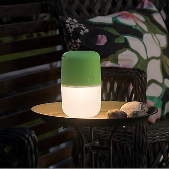 KONSTSMIDE Solar Powered luce di notte di Dimmable LED giardino, verde