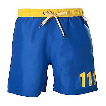 Fallout 111 simma stammar S storlek blå/gul (SH301002FOT-S)