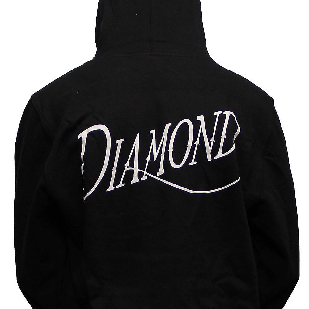 Diamond Supply Co Old Script Hoodie Black
