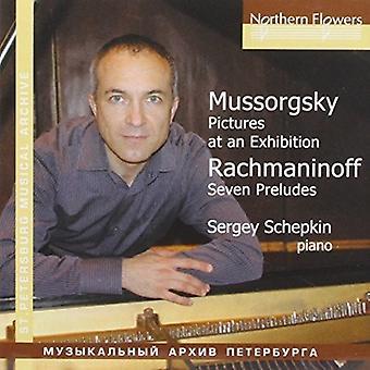 Schepkin - billeder på en udstilling Rachmaninov: 7 udvalgte [CD] USA import