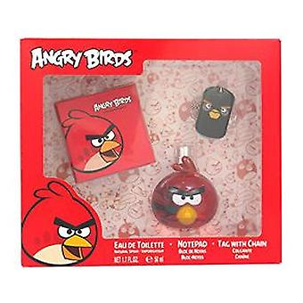 Angry Birds Red Eau de Toilette 50 ml + 2 Piezas