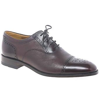Loake Woodstock Lace Up Panel Shoes