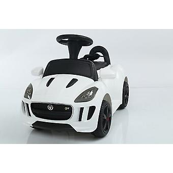 Licensed Jaguar Electric Ride on Car 6V with Parental Remote White