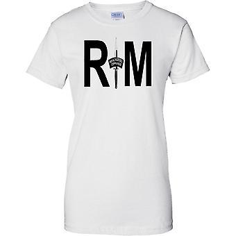 RM Commando Dagger - Royal Marines - Naval Elite Forces - Ladies T Shirt