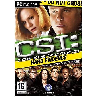 CSI twarde dowody PC DVD gry