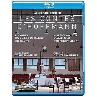 Les Contes D'Hoffmann [Blu-ray] USA importerer