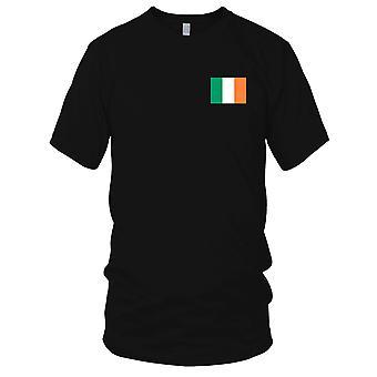Bandiera nazionale del paese irlandese Irlanda - Logo - ricamato camicia 100% cotone t-shirt bambini T