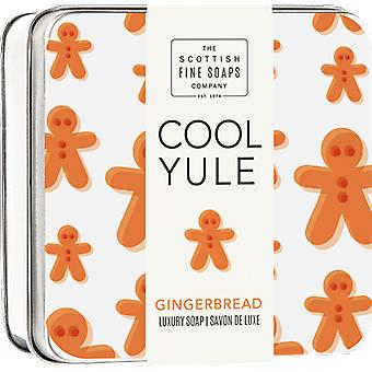 Scottish Fine Soaps Cool Yule Gingerbread sapone Tin