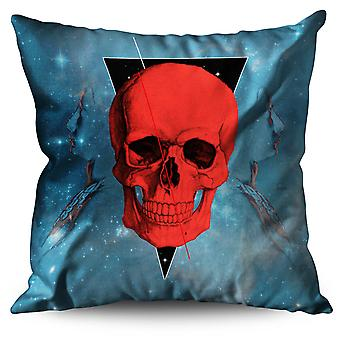 Cool Skull Linen Cushion Cool Skull | Wellcoda