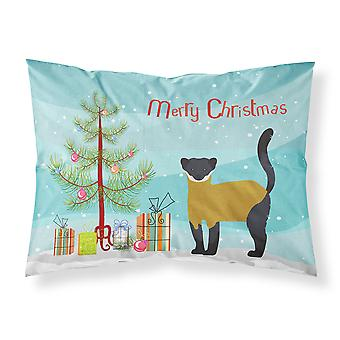 Marten żółtym Throated Boże Narodzenie tkaniny Standard Poszewka na poduszkę