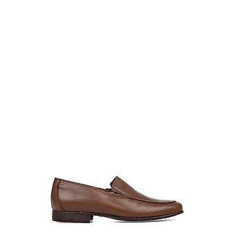 Trotters men's 60808BROWN brown leather moccasins