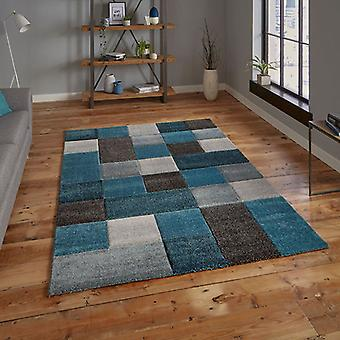 Rugs -Brooklyn - 646 Blue / Grey