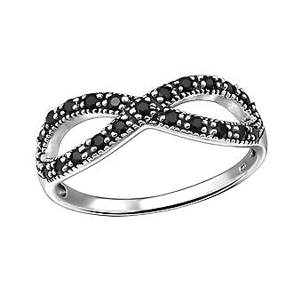 Infinity - 925 Sterling Silver Jewelled Rings - W31584X