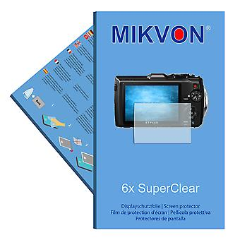 Olympus TG-4 screen protector- Mikvon films SuperClear