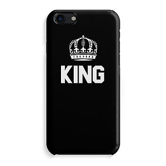 iPhone 7 Full Print Case - King black