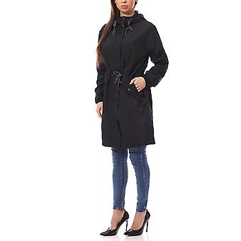 Lee rain jacket women's rain jacket black with DrawString