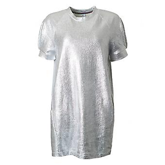 Paul Smith Ps Metallic Short Sleeved Tunic Dress