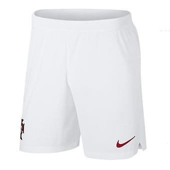 2018-2019 Portugal Nike Away Vapor Match Shorts (White)