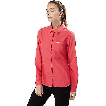 Craghoppers Womens/Ladies Kiwi NosiLife Long Sleeve Button Shirt