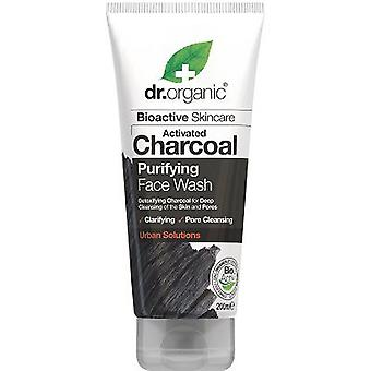 Dr. Organic Charcoal Face Wash (Cosmetics , Facial , Facial cleansers)