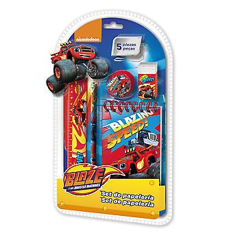 Blaze and The Monster Machines stationery set