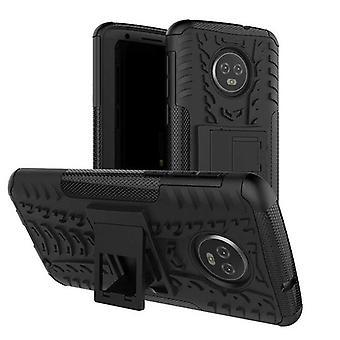 Для Motorola Moto G6 плюс Гибридная случай 2 кусок SWL открытый черный мешок случае рукав защиты
