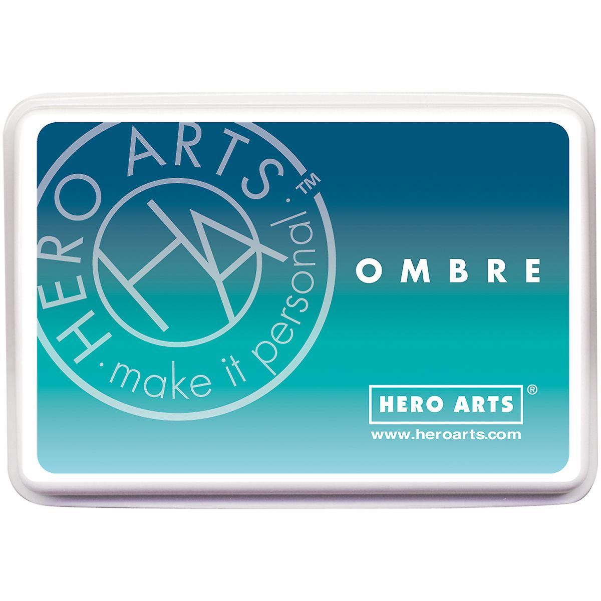 Hero Arts Ombre Ink Pad-Pool To Navy