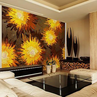 Wallpaper - Sunflower dance