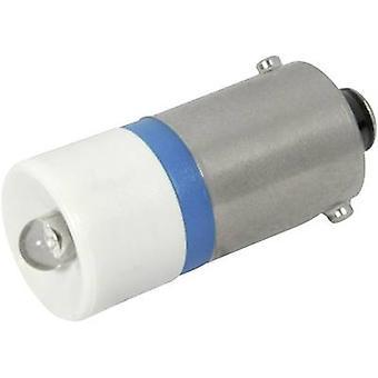CML LED bulb BA9S Blue 24 Vdc, 24 V AC 680 mcd 18602357