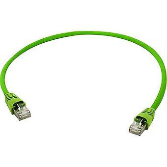 Telegärtner RJ45 Networks Cable CAT 5 SF/UTP 10 m Yellow-green