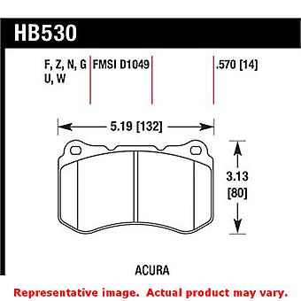 Hawk 'Performance Street' Brake Pads HB530Z.570 Fits:ACURA 2007 - 2008 TL TYPE-
