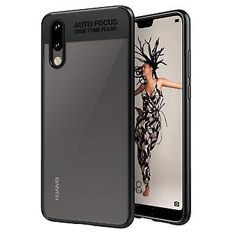 Ultra Slim Case für Huawei P20 Pro Handyhülle Schutz Cover Schwarz