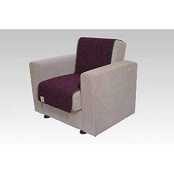 Seat saver wool studs grey 150 cm x 50 cm