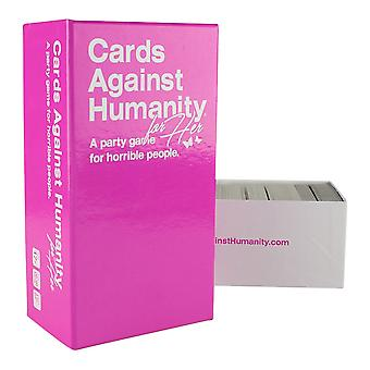 Cards Against Humanity for Her card game