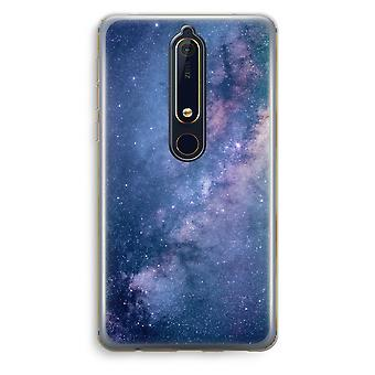 Nokia 6 (2018) Transparent Case - Nebula