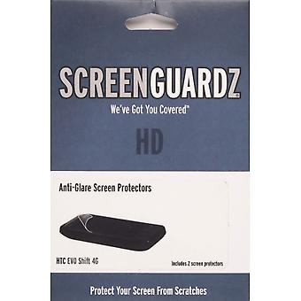 BodyGuardz Anti-glare ScreenGuardz+HD Screen Protector for HTC EVO Shift 4G (2 pack)