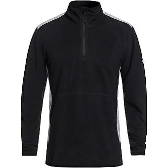 Quiksilver Mens Aker Half Zip Technical Ski Fleece Jacket