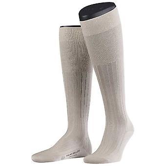 Falke Sand Milano Socken Kniestrümpfe - Falke