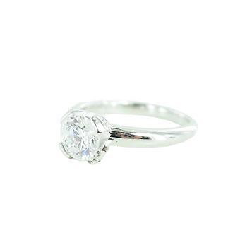 ESPRIT collection ladies ring silver zirconia Solaris Gr. 17 ELRG92338A170