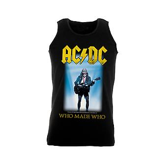 Ac/Dc Who Made Who Tank Top