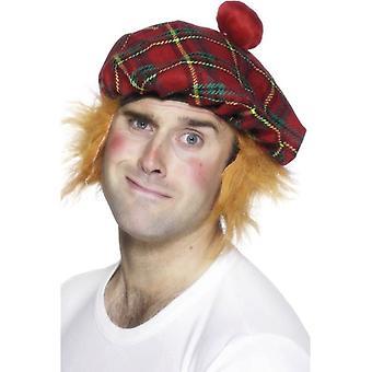 Tam-O-Shanter Tartan hoed, One Size