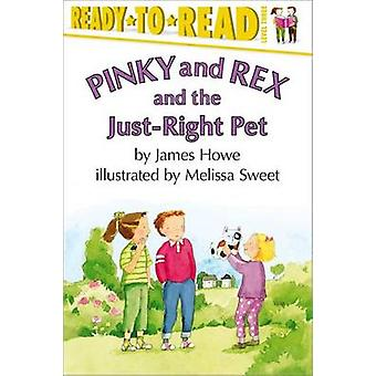 Pinky & Rex & the Just-Right P by Howe James - 9780689839429 Book