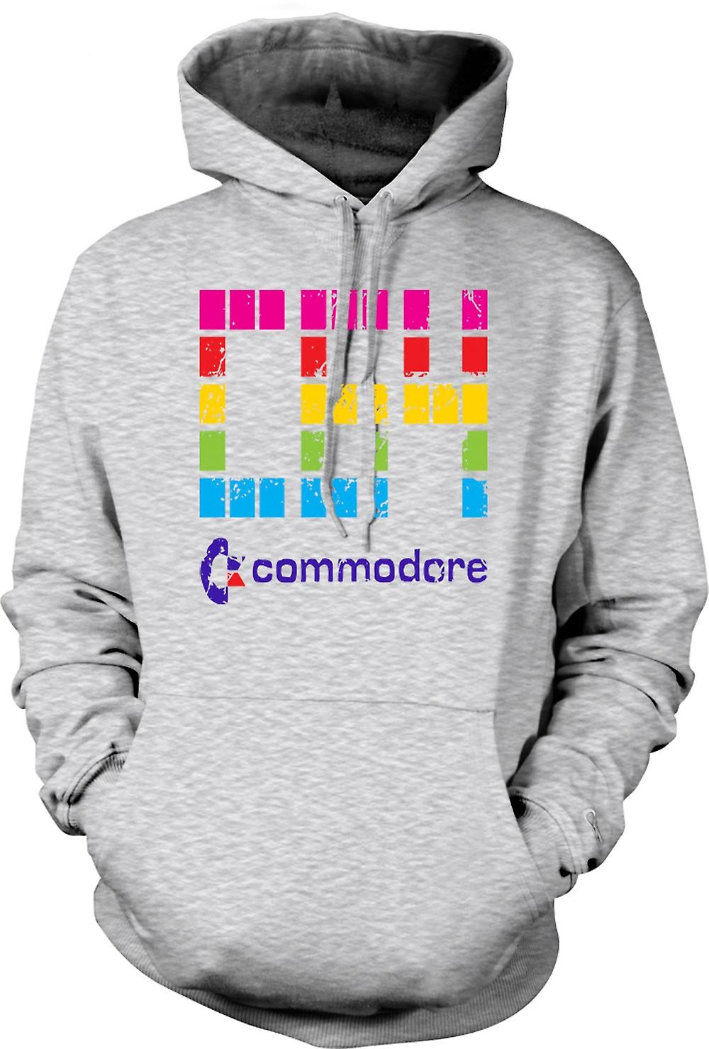 Mens Hoodie - Commodore C64 - Retro computergames - Funny