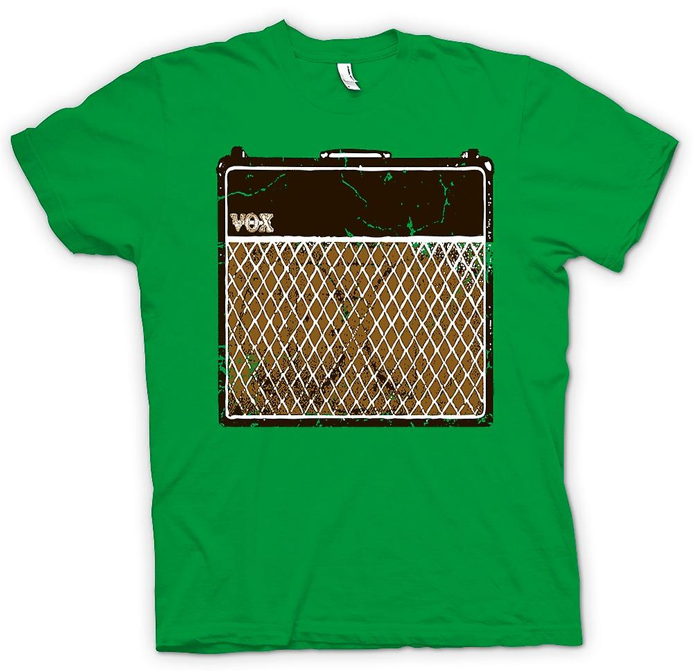 Herr T-shirt - Vox Guitar Amps AC30 - Blues rockmusik