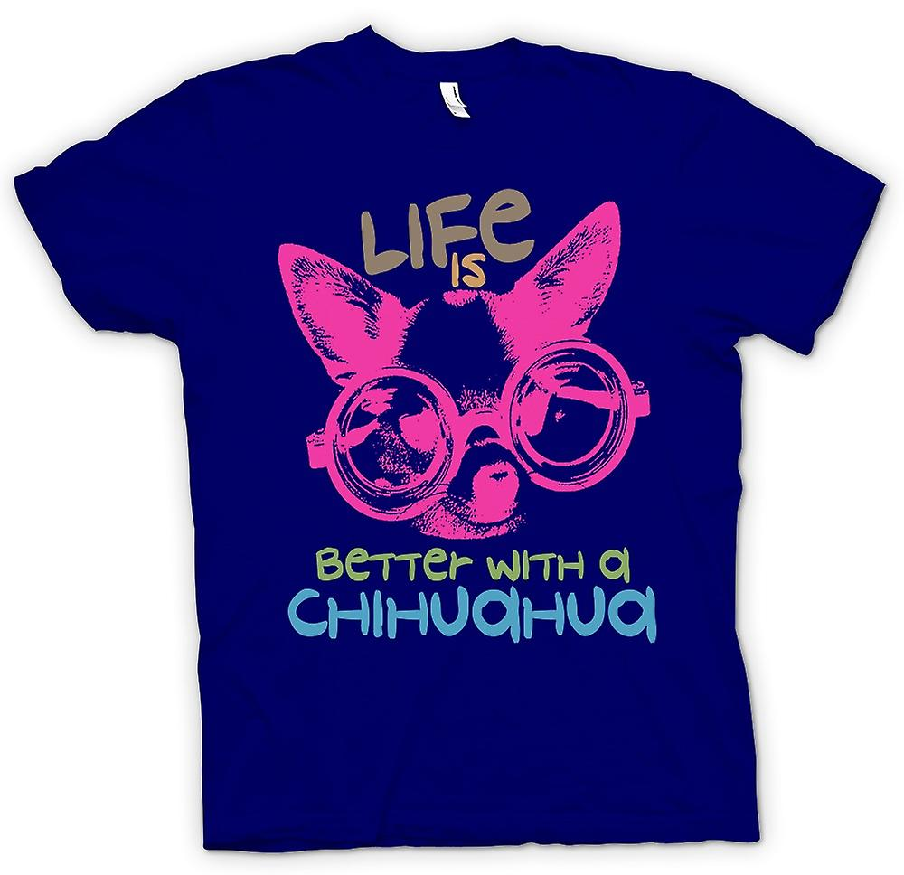 Mens T-shirt - Life Is Better With A Chihuahua