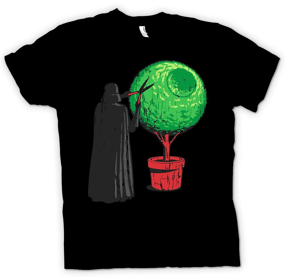 Womens T-shirt - Darth Vader trimmen van de Hedge - Deathstar